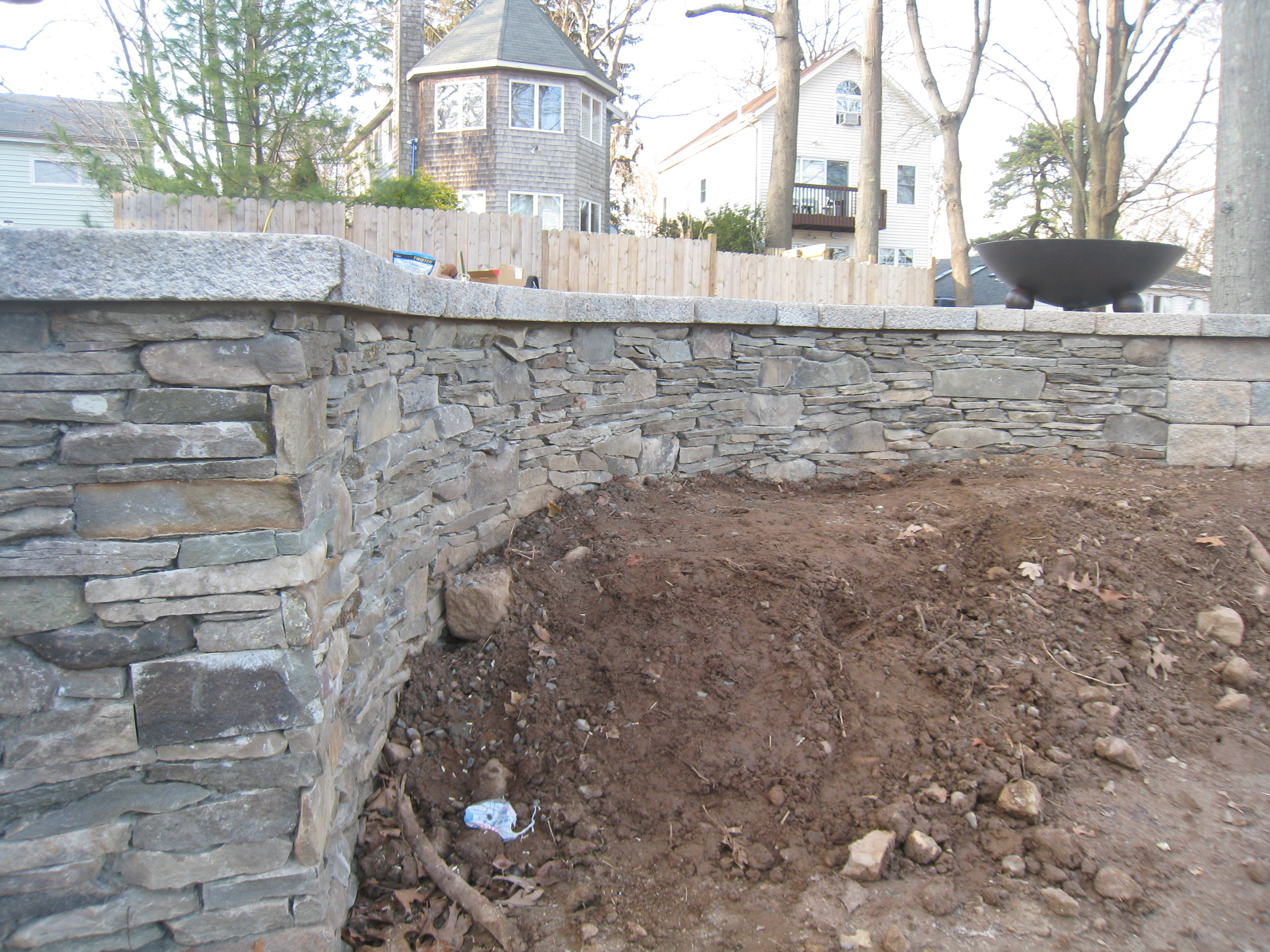 Brooks stone from retaining walls and porch foundations to decorative walls and custom grille enclosures stone can make any creation look natural and beautiful amipublicfo Images