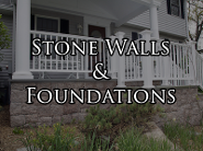 Stone Walls & Foundations
