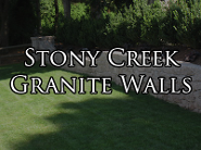 Stony Creek Granite Walls